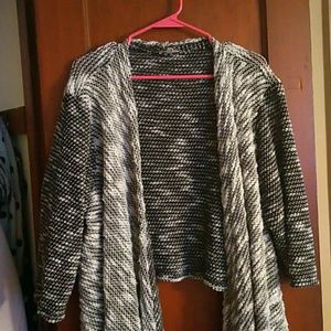 Joan vass 2x open cardigan